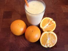 Skinny Orange Dream Smoothie – 129 calories or 4 Weight Watchers pp for a whole smoothie.