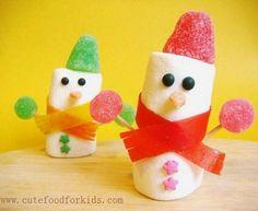 Manualidades de Navidad con gominolas