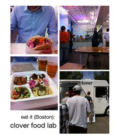 review of clover food lab in Boston.