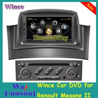 A8 chipest S100 Car DVD Player For RENAULT MEGANE II 2 2002-2008 With GPS Navigation Radio RDS Bluetooth TV 3G WIFI, FREE Map