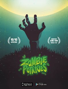 Zombie Potatoes Mobile Game on Behance