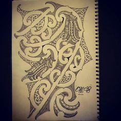 Maori Tattoo Patterns, Maori Patterns, Circle Drawing, New Zealand Tattoo, Maori Tattoo Designs, Maori Art, Carving Designs, Chest Tattoo, Flower Tattoos