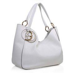Designer Gucci White Leather Handbags 2016