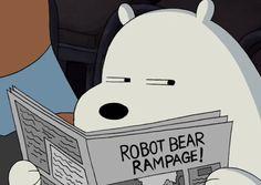 Ice bear suspicious