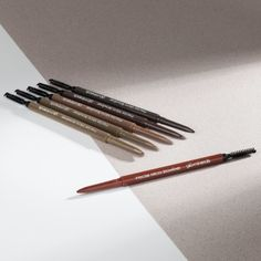 Expertly frame and shape your brows like never before with Precise Micro Browliner. This ultra-slim pencil from glo minerals fills in sparse areas with the precision and detail of fine, hair-like strokes for a perfectly natural look.