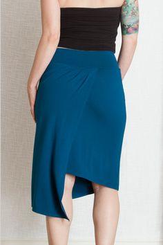 Adornan la exclusiva, en Minnesota. Falda tango argentino. Elaborado a partir de un cómodo peso de medio punto, esta falda asimétrica tiene