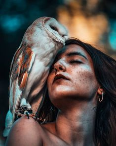 Dreamlike Portrait Photography by Damien Casals #art #photography