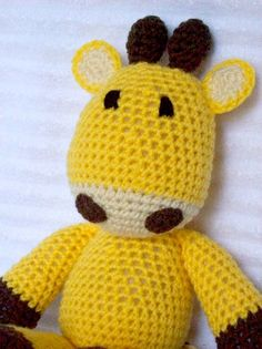 Crochet Animal Crochet Giraffe Stuffed Animal by NikkisCraftShoppe, $30.00