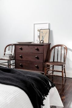 dresser and chairs