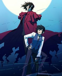Alucard and Young Walter ~ Hellsing