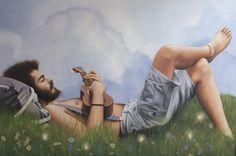 Il vagamondo, olio su tela, 80x120cm, 2016