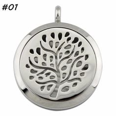 Nature Inspired Diffuser Lockets for Aromatherapy - 4 designs