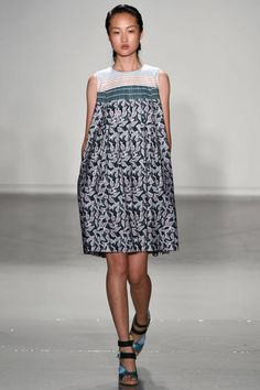 Suno Spring 2015. See all the best runway looks from New York Fashion Week here.