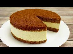 nežný káva torta ☕️ - YouTube Bolo Youtube, Cake Factory, Nigella, Coffee Cake, Vanilla Cake, Tiramisu, Cake Recipes, Cheesecake, Cooking Recipes