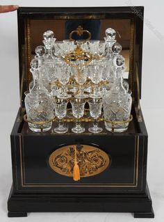 Antiques Atlas - Napoleon II Boxed Decanter Set & Glasses