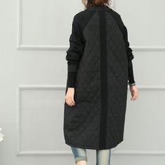 Black Cotton Casual Jacket – Buykud