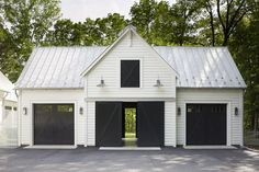 garage ideas Why you need a detached garage? Its also great for the overall house look. You have a neat standalone house without garage as its tails (or wings).