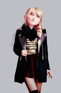 Modern day Astrid (She looks like Becky from Sorcerer's Apprentice, which ironically stars Jay Baruchel as well :P)