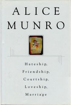 """(Alice Munro) """"Hateship, Friendship, Courtship, Loveship, Marriage"""" in a solar powered bookstore? like the one in the pin called Solar Powered Books? or in a bookshop with DIY passive solar heaters in the windows? First Time Kiss, Alice Munro, Foster Parenting, Betta, Reading Lists, Short Stories, Flirting, Books To Read, Friendship"""