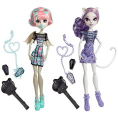 Ghoul Chat Rochelle Goyle and Catrine DeMew 2 Pack Kmart Exclusive