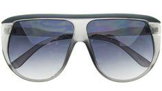 Oversized Sunglasses, Grey, Fashion, Gray, Moda, Fashion Styles, Fashion Illustrations