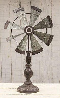 Rustic Windmill Finial *