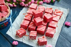 ru pages video. Dessert Bars, Dessert Recipes, Russian Desserts, Handmade Chocolates, Food Club, Baked Pumpkin, Homemade Chocolate, Confectionery, No Cook Meals