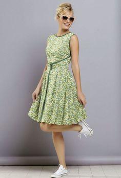 Free PDF pattern, GBSB Walkaway dress