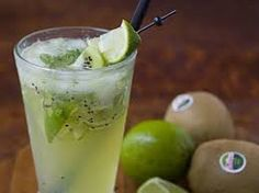 Virgin Muddled Kiwi Mojito By La Fuji Mama. Kiwi seems like it might overpower the lime and mint, but I'm willing to give it a try :) Fancy Drinks, Cocktail Drinks, Cold Drinks, Cocktail Ideas, Virgin Drinks, Virgin Mojito, Kiwi, Refreshing Drinks, Summer Drinks