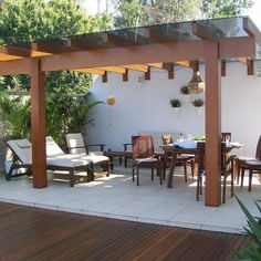 Make your day with these fabulous backyard pergola design. Add pergola in backyard place to escape of city life. If you have some time, see these ideas Pergola With Roof, Pergola Plans, Pergola Kits, Backyard Retreat, Backyard Pergola, Backyard Landscaping, Terrace Design, Garden Design, Gazebos