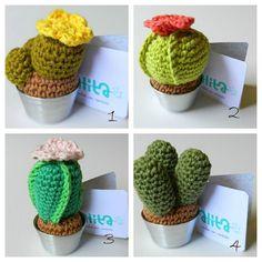 Crochet Cactus. $20.00, via Etsy.