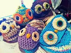 Crochet Owls :)