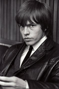 "Rolling Stones: Brian Jones, photo by John ""Hoppy"" Hopkins, 1964"