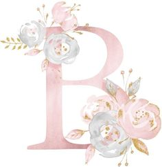 Page 2 Read Flores from the story Imagens 2 by (Aylena A. Watercolor Lettering, Watercolor Illustration, Watercolor Art, Flower Backgrounds, Wallpaper Backgrounds, Iphone Wallpaper, Floral Font, Floral Letters, Lapin Art