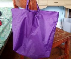 How to make a Grocery Bag [repurposed umbrella]