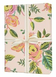 Rifle Paper Co 3 Rolls Jardin De Paris Wrapping Paper: These beautiful Jardin De Paris Wrapping Sheets are perfect for gift wrapping, drawer liners, and art projects.