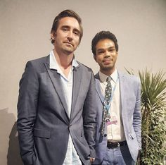 From Instagram: #Repost @ismail89 with @repostapp ・・・ Hanging out with #LeePace at #MomentumForChange event at #COP22  So happy to have #Thranduil joining our battle against #ClimateChange  November, 16 2016