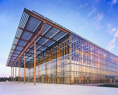 These structures generate their own power and incorporate photovoltaic arrays in creative ways.