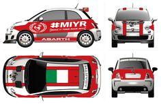 Andrea Magosso livery - Top Designers for Top Drivers: join the challenge http://www.mychallenge.abarthworld.com/uk/en/challenge/?Challenge=12