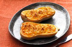 Cheesy Stuffed Butternut Squash recipe