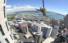 Jump off the tallest building in New Zealand by leaping off the Skytower in Auckland.