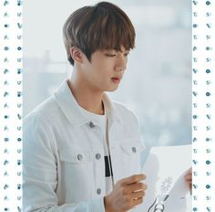 Jin ❤ BTS X PUMA~ (Plus message: 1. Your faves aren't obligated to learn your language just because you can't find subtitles 2. Did you vote for BTS on the Soribada app today? 3. The 'P' in Pinterest stands for: Problematic.. FouR ʕ•ٹ•ʔ) #BTS #방탄소년단