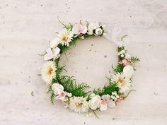 ♥ Kwiatowy wianek na głowę ♥
