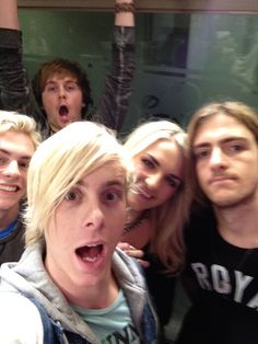 Is crazy Riker and Ratliff Is smiling Rydel and Ross Is cerium Rocky