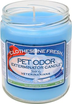 Pet Products By Royal - Pet Odor Exterminator Candle -  Clothesline Fresh , $6.99 (http://www.petproductsbyroyal.com/pet-odor-exterminator-candle-clothesline-fresh/)