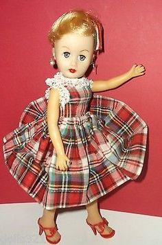 Vintage-Cosmopolitan-Miss-Ginger-Fashion-DOLL-10-1-2-rival-Little-Miss-Revlon