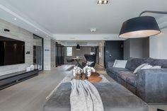 Living room, house, home, interior, design, grey