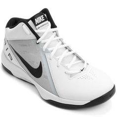 Tênis Nike The Air Overplay 9 - Branco+Preto Tênis Nike 54f08c0d069d4