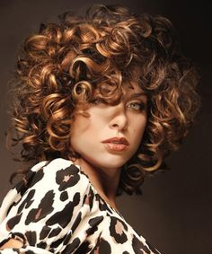 highlights for natural curly hair - Google Search