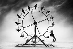 Photo by Victor Habchy at Burning Man 2014